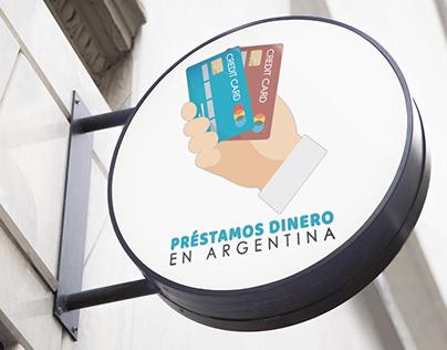 Logo for Préstamos Dinero en Argentina.