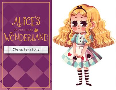 Alice in Wonderland | Character study