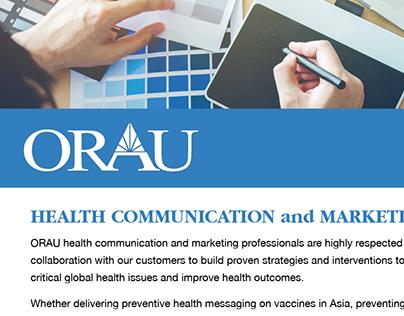 ORAU HEE-H Marketing Flyer
