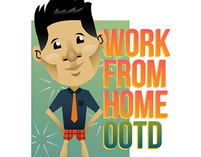 """""""Work From Home"""" Sticker Pack"""