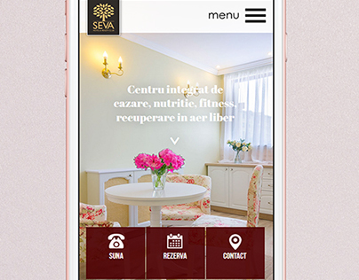 Website for a hotel