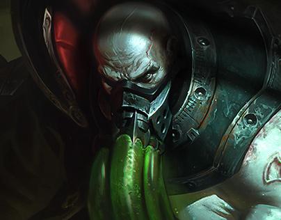 Urgot - League of Legends - Login Screen