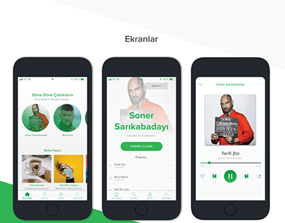 Spotify Light Mod UI Design and new features