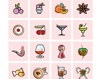 300 Icons for Smokeless Juices.