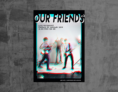 Our Friends Poster + Logo