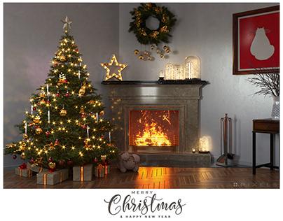 Merry Christmas from 4PixelsStudio