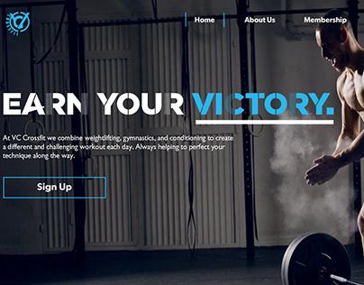 Victory Crossfit - Web Design