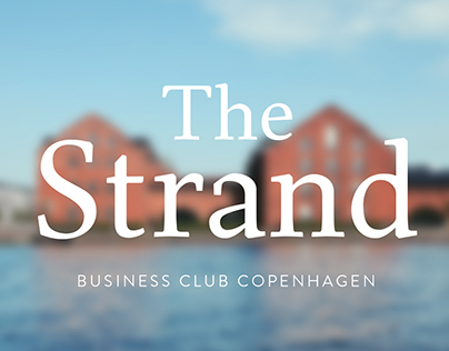 The Strand branding project