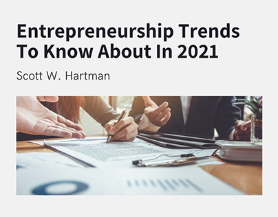 Entrepreneurship Trends In 2021