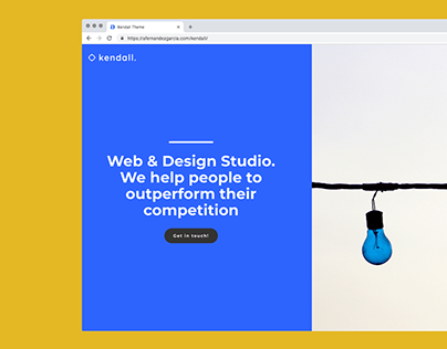 Kendall Theme - Website