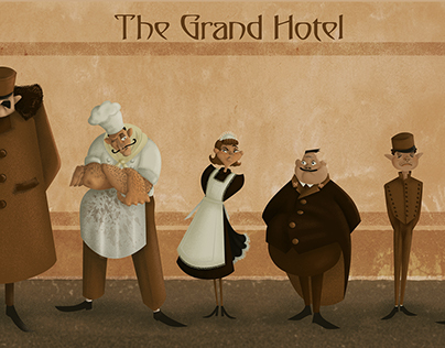 Grand Hotel Characters