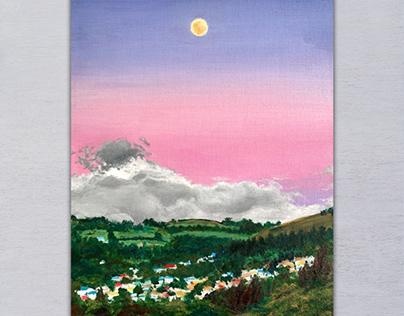 Dunedin Moonrise