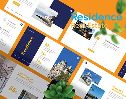 Residance - Real Estate Presentation Template