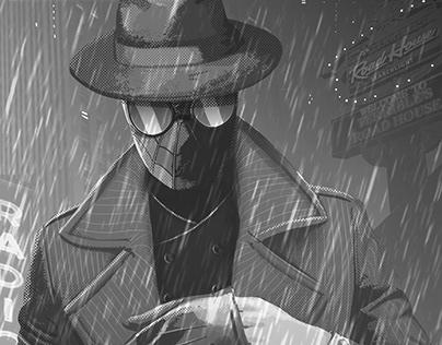 Spiderman Noir (Fanart)