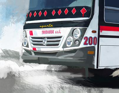 Digital Art buses