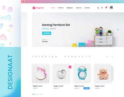 Designaat E-commerce Website