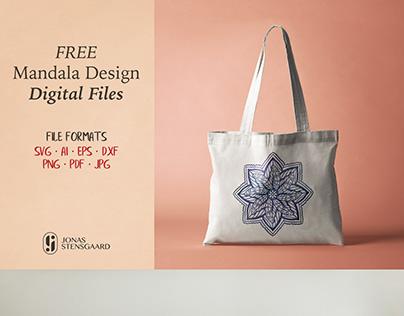 Free Mandala Design SVG