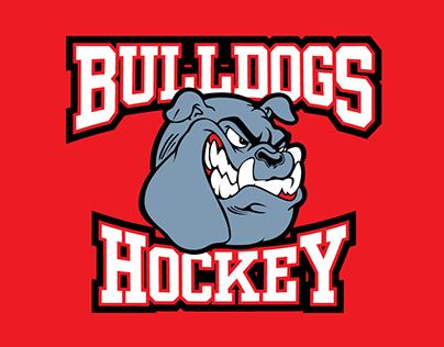 Bulldogs Hockey Team Jersey Design