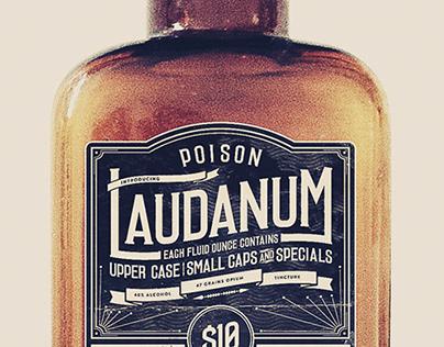 Laudanum - font