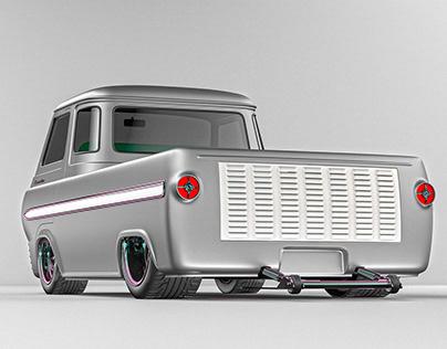 Ford Econoline e-100 : CGI by Studio Powers