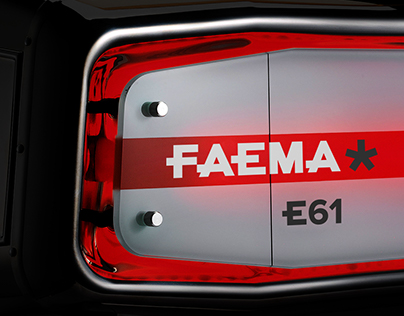 FAEMA Coffee Machine  Branding
