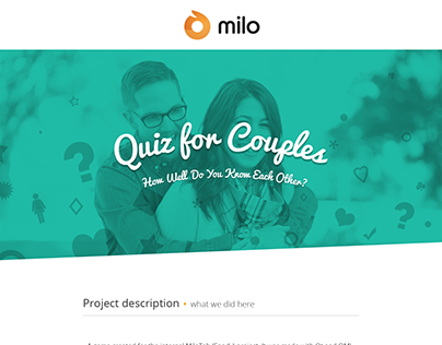 Couples Quiz - by Milo