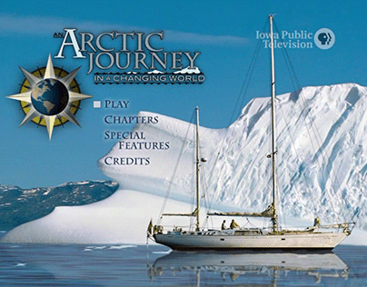 An Arctic Journey in a Changing World | DVD Menus