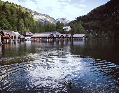 Königsee - Lake of the kings, king of the lakes