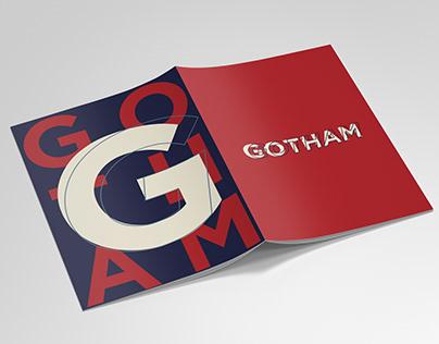 Typography Specimen: GOTHAM