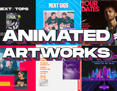 Animated artworks