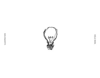 White noise - Illustration project