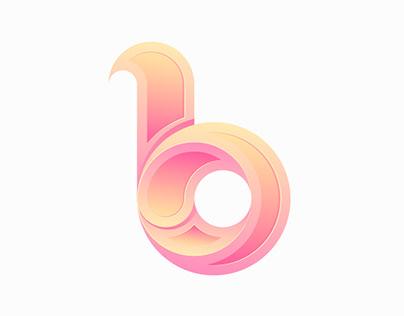 b Logo design #6