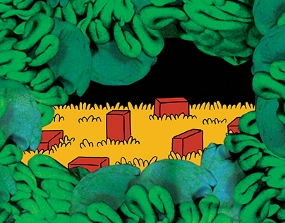 Six Tiny Bricks (cover illustration)