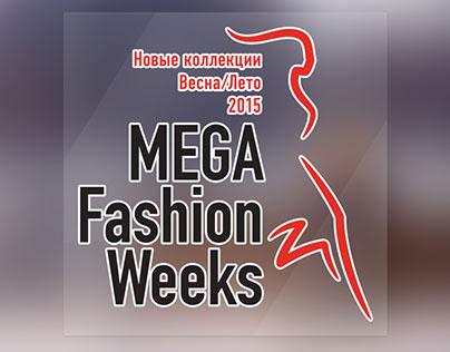 MEGA Fashion Weeks Print Design