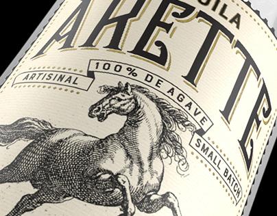 Tequila Arette Label