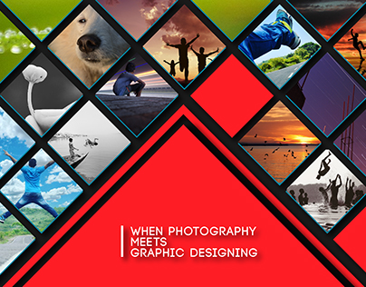 When Photography Meets Graphic Designing