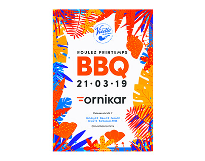 """Event """"La Vieille"""" x ORNIKAR - Poster and more"""