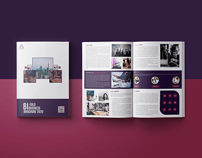 "Business Brochure - "" Bi-FoldBusiness Brochure 2020 """
