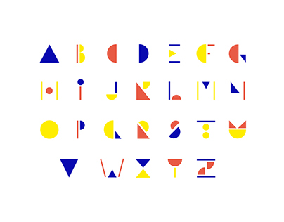La flottante - typographie