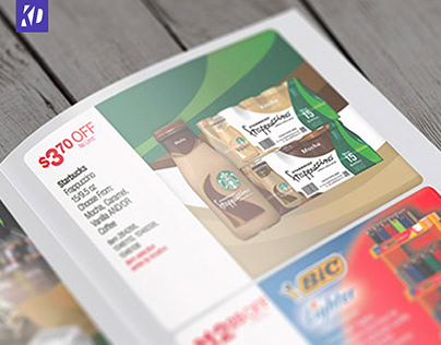 Starbucks Brochure Ad