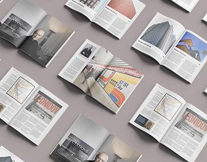 Magazine Layout - Massimo Vignelli