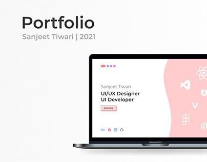 Portfolio   Front-end dev   2021
