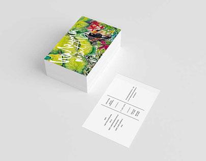Tropical Invitations Print Design