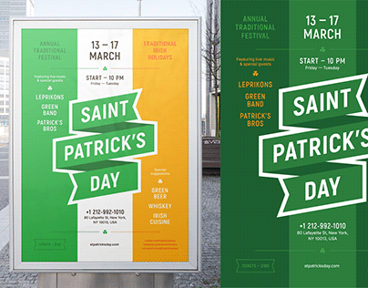 St. Patrick's Party Poster