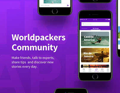 Worldpackers Travel App Community