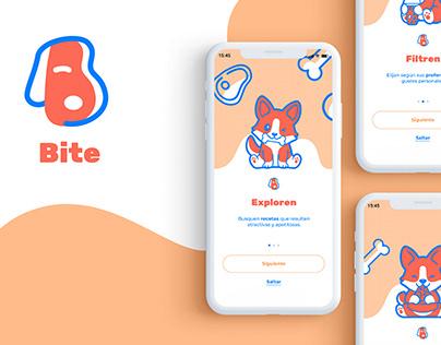 Bite app | UI Design
