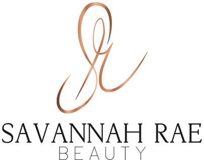 Logo Design: Savannah Rae Beauty
