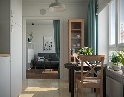 Apartments, Moscow, Varshavskoe shosse st.141
