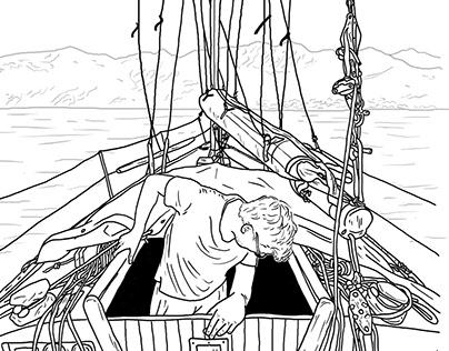 The Voilier - Illustration