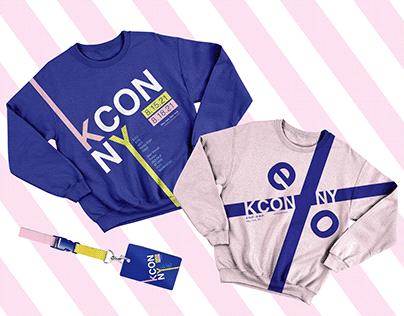 K-CON Typography Merchandise